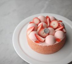 Cake decoration birthday treats 66 ideas for 2019 Fancy Desserts, Healthy Desserts, Fondant Cakes, Cupcake Cakes, Sweet Recipes, Cake Recipes, Dessert Decoration, Sweet Cakes, Pretty Cakes