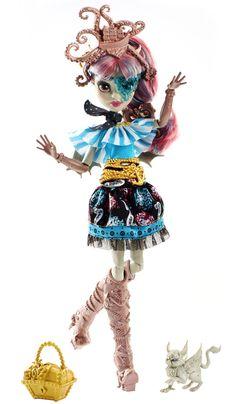 Monster High Пиратская авантюра Рошель Гойл с питомцем