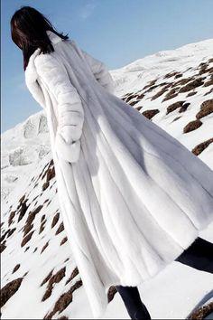 Snow Fashion, Fur Fashion, Winter Chic, Winter Wear, Fur Skirt, Stunning Brunette, Wedding Fur, Fur Bomber, White Heat