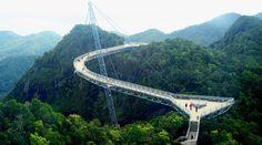 ¿Miedo a las alturas? Los puentes colgantes que causan mareo