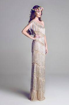 The Great #Gatsby's Daisy would decidedly adore this Hamda Al Fahim 2013 #wedding dress.