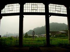 Bungo railway roundhouse  豊後森機関庫