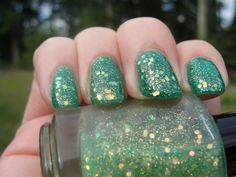 Hey, I found this really awesome Etsy listing at https://www.etsy.com/listing/163247737/lime-rickey-full-size-glitter-nail