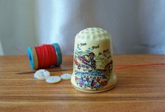 Thimble from France by cynthiasattic on Etsy, $25.00