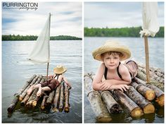 tom sawyer huck finn photo shoot