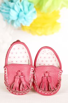 Pinkie Toes ~ Genuine Leather & Fabric Little Monkey Moccasins – Funky Monkey Fashion Accessories