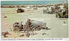 Dunkirk Aftermath | abandoned material, and dead british soldiers