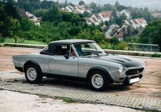 Fiat 124 Abarth Rally replica, For Sale (picture 1 of 6 Fiat 124 Sport Spider, Fiat 124 Spider, Car Activities, Fiat Cars, Fiat Abarth, S Car, Alfa Romeo, Rocking Chair, Sport Cars