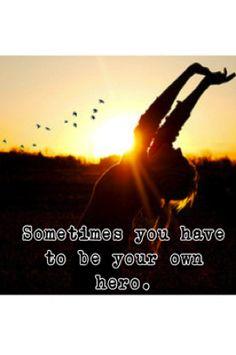 sometimes you do <3