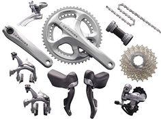 BIKE單車網 --- 單車品牌介紹: 公路車 - 變速器介紹(1) Shimano