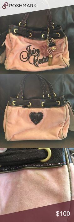 Juicy Couture Purse Juicy Couture Purse. Gently used (some blemishes shown in picture). Juicy Couture Bags