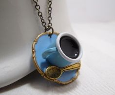 Cup Of Coffee Necklace