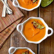 Sweet Potato Soup With Ginger & Vanilla Recipe