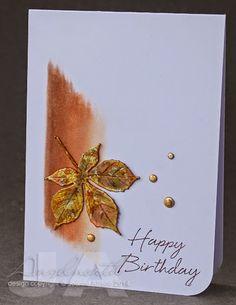 Ambrosia and Iron: Autumn birthday