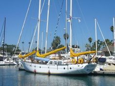 1974 50' Hudson Boat Works Force 50' Pilothouse for sale in Marina ...