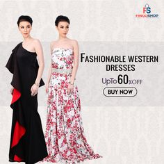 Best offers on fashionable collection of western wear dresses online at fingoshop.  #westernwear #westerndresses #womenclothes #womenfashion #westernfashion #onlineshopping #onlineshoppingindia Party Wear For Women, Western Wear Dresses, Strapless Dress Formal, Formal Dresses, Online Shopping For Women, Amazing Women, Dresses Online, Clothes For Women, How To Wear