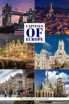 51 European Capitals - short info and beautiful photos Travel General, Danube River, Cities In Europe, City Limits, Most Beautiful Cities, Bratislava, Countries, Photos, Pictures