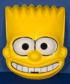 Bart Simpson - plastic Halloween mask