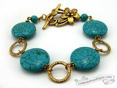 West Nile Turquoise Bracelet