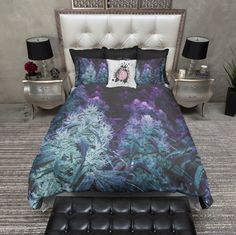 NEW World of Warcraft Night Elf Bedspread Bed Cover Coverlet Quilt Cover Japan