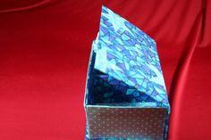 Caixa Baú Estrela Azul  www.munayartes.com