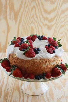#desserts #cake #strawberries