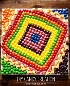 Kid Inspiration - DIY Spring CandyCreation #shop #cbias
