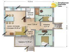 Каркасный дом Эссойла - 89 кв.м