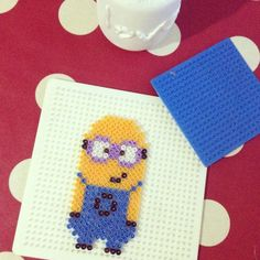 Minion perler beads by tuuceulker
