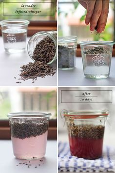 Lavender All-Purpose Cleaner Recipe Ingredients: 1 cup vinegar 1/4 cup dried lavender water
