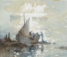 William Lionel Wyllie RA W.Wyllie, original signed oil paintings, watercolours and etchings - Robert Perera Fine Art Gallery of Lymington Artist Biography, Yacht Boat, Art Auction, Fine Art Gallery, American Flag, Watercolor, The Originals, Boats, Artwork