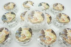 Lot of 12-Guardian Angel White Scented Rosary favors