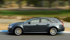 CTS-V  wagon. Dropped from line up 2015.