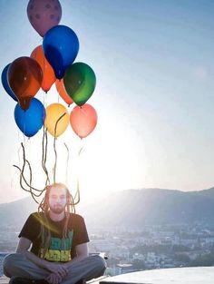 Balloon hair