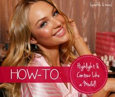 How to highlight and contour like a model! This is one of the biggest beauty tricks out there for industry professionals and celebs, and now you can master it as well with just a few easy steps! Good pin!!