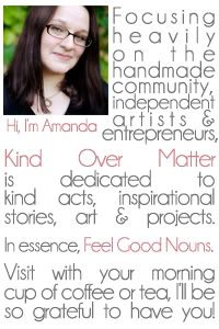 kind over matter: Spinning My Story : Why I Do What I Do
