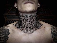 Dotwork neck piece by Alexis Calvie