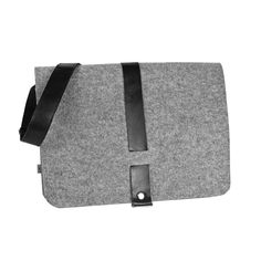 MEN felt bag (various colours) - Purol Design  MEN is a hand-made bag of felt and leather.