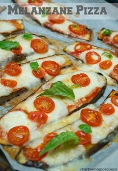 68 ideas for recipes low carb vegetarian gluten free Italian Dishes, Italian Recipes, Vegetable Dishes, Vegetable Recipes, Eggplant Pizza Recipes, Healthy Cooking, Cooking Recipes, Good Food, Yummy Food