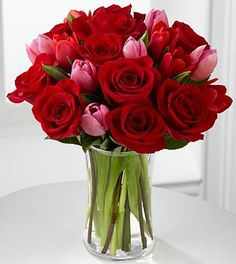 Let Love In Valentine's Day Bouquet - 22 Stems  http://www.rebategiant.com/store/1758/ftd-com.html