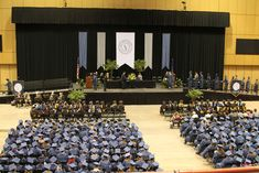 St Paul College Commencement Stage