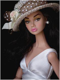 A beautiful hat by Ellen Harris.