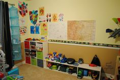 DIY Organizer Series: Creative Storage- 10 Ways A Kids Space Is ...