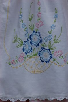 Pink vintage inspired apron dress size 5 by emmistrunk on Etsy