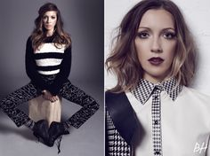 """Katie Cassidy of """"Arrow"""" Shows Off '90s Beauty Trends 