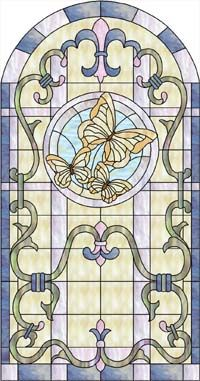 Glass Eye 2000 Stained Glass Software - Design of the Month