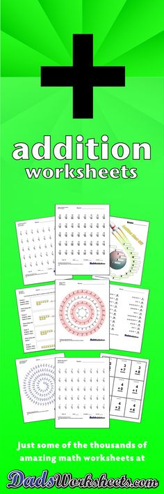 These place value additon sheets are good first steps towards ...