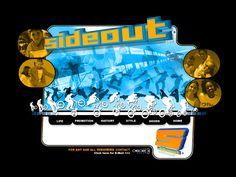 Sideout website in 2003