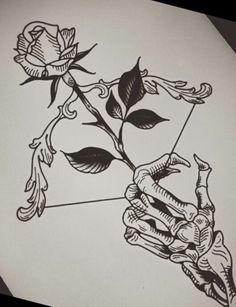 Tattoo Design Drawings, Art Drawings Sketches Simple, Pencil Art Drawings, Tattoo Sketches, Drawing Ideas, Bild Tattoos, Body Art Tattoos, Sleeve Tattoos, Tatoos