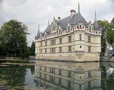 Château of Azay-le-Rideau, France